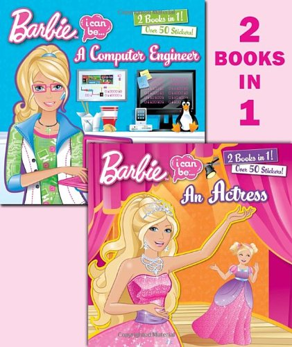 I Can Be an Actress/I Can Be a Computer Engineer (Barbie) (Deluxe Pictureback) (Barbie I Can Be Actress compare prices)