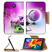 buy Samsung Galaxy Tab 4 7.0 Inch Flip Pu Leather Wallet Case Education Concept Image 32860755 By Msd Customized Premium