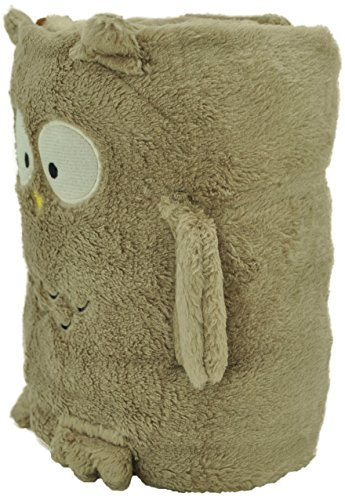 Jack and Friends Cuddly Animal Baby Plush Owl Blanket