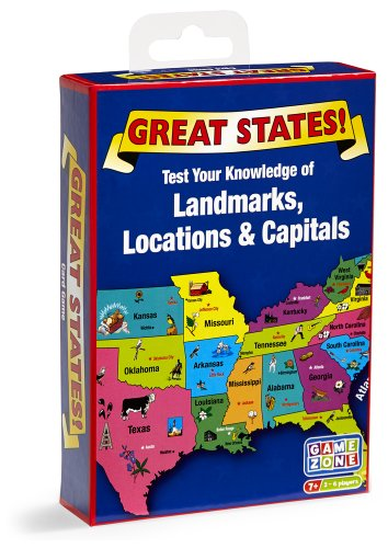 Great States Card Game