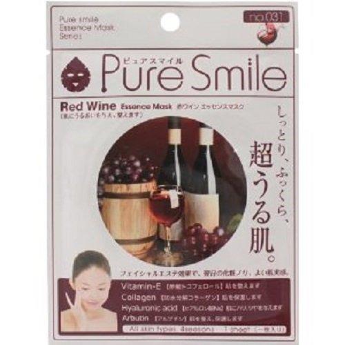 ピュアスマイル エッセンスマスク 赤ワイン 30枚セット