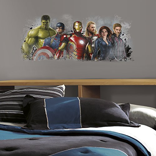 Perfect RoomMates Avengers Age of Ultron Distressed Peel and Stick Giant Wall Graphix
