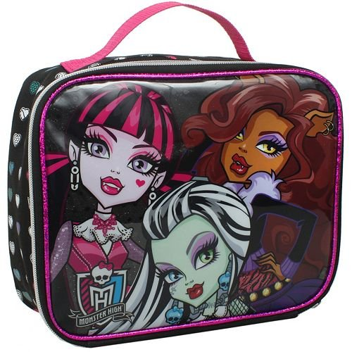 Monster High Lunch Bag with 3 Monster High Girls