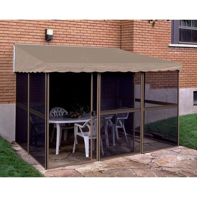 Add-A-Room Gazebo Structure Color: Sand, Roof