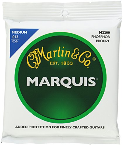 Martin M2200 Marquis Phosphor Bronze Acoustic Strings, Medium (Cf Martin Strings compare prices)
