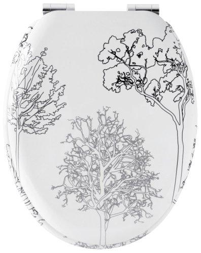 Design 705956 WC-Deckel, Absenkautomatik, Bäume-Motiv