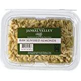 Jansal Valley Raw Slivered Almonds, 1 Pound