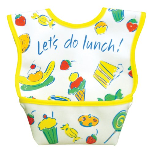 Dex Baby Dura Bib - Stage 1 - Small 3 - 12 Months (Let's Do Lunch) - 1