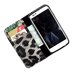 i-KitPit PU Leather Wallet Flip Case Cover For HTC Desire 501 / 501 Dual Sim