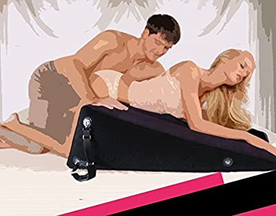 "Wedge and Ramp Sex Furniture for Couple Sex Position Inflatable Pillow, Purple, 33.85 ""(L) x 24.05""(W) x 11.81(H)"