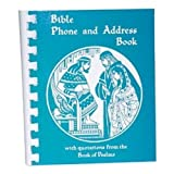 img - for Bible Phone and Address Book book / textbook / text book
