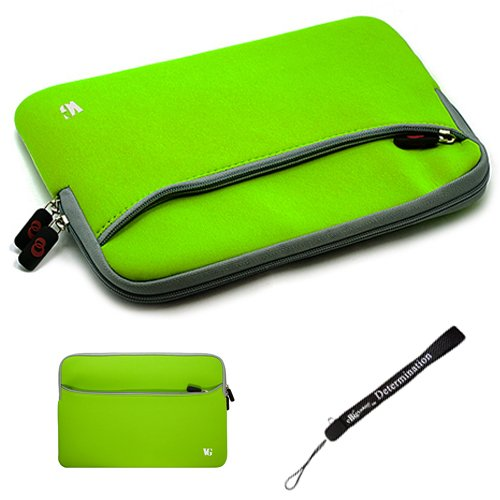 Na Slim Protective Soft Neoprene Traverse Carrying Case Sleeve with Extra Help oneself to // Airport Check-Point-Cordial // For ViewSonic gTablet with 10 Multi-Touch LCD Screen, Android OS 2.2 Bolus