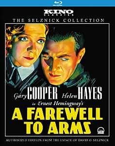 Farewell to Arms: Kino Classics Edition [Blu-ray]