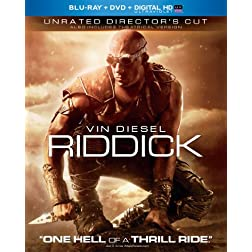 Riddick (Blu-ray + DVD + Digital HD with UltraViolet)