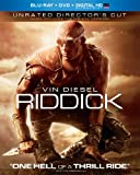 Riddick (Unrated Director's Cut Blu-ray + DVD + Digital HD UltraViolet)