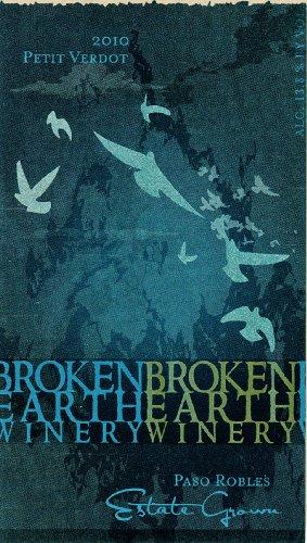 2010 Broken Earth Petit Verdot Paso Robles 750 Ml