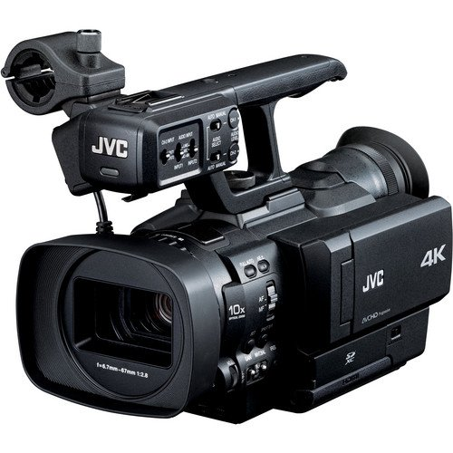 JVC GY-HMQ10U 4K COMPACT HANDHELD CAMCORDER (Discontinued by Manufacturer)