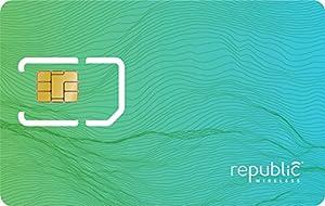 Republic Wireless Complete SIM Starter Kit - Prepaid Carrier Locked