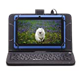 """7"""" Google Android 4.4 Kitkat Tablet PC 8GB Quad Core Keyboard video review"""
