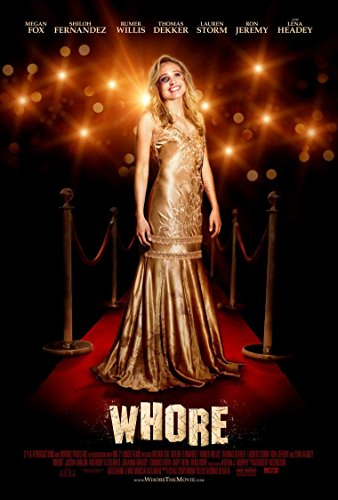 Whore Film-Poster, 70 x 44 cm