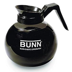 Bunn BUNN 42400 12-Cup Glass Decanter - Black