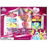 Disney Princess 18 Piece Necklace, Bracelet & Hair Accessory Set