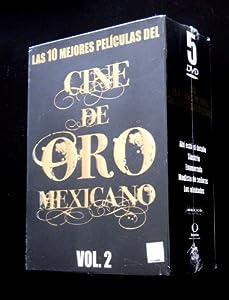 Las 10 Mejores Peliculas del Cine de Oro Vol. 2 (5 movies) - Ahi Esta el Detalle (Mario Moreno Cantinfilas) / Simitrio (Jose Elias Moreno) / Enamorada (Maria Felix) / Modisto de Senoras (Mauricio Garces) / Los Olvidados (Roberto Cobo) [NTSC/Region 1 and 4 dvd. Import - Latin America] 5 DVD boxset