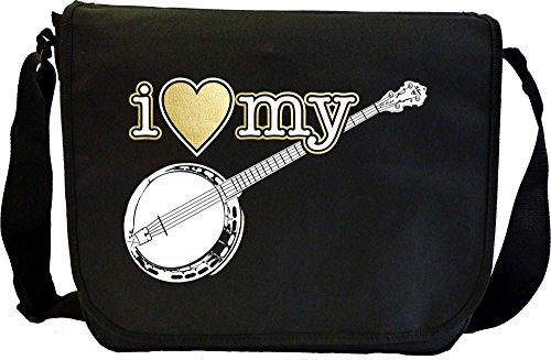 Banjo-I-Love-My-Sheet-Music-Document-Bag-Musik-Notentasche-MusicaliTee