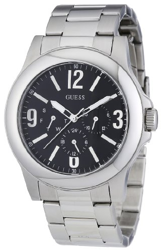 Guess Scope Black Dial Men's Dress Watch W11152G1