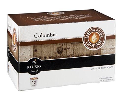 Barista Prima Coffeehouse Keurig Columbia Medium-Dark Roast K-Cups 5.71 OZ (Pack of 18) (Keurig Barista Prima Columbia compare prices)
