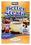 Stevia Extract (sucre naturel)sachet - 2 boxes (2x100 packets) - Now foods