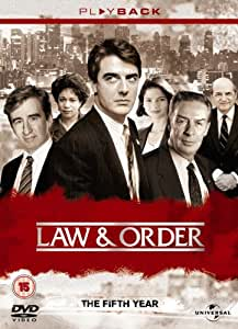 Law & Order - Season 5 - Complete [1994] [DVD]