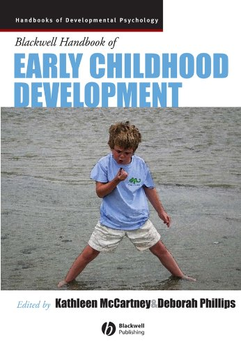 Blackwell Handbook Of Early Childhood Development front-1043709