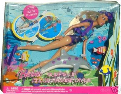 Barbie surfs up color change diver barbie surfs up color change diver