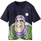 Disney Boys' Buzz Lightyear and Woody Big Face Toy Story Tee