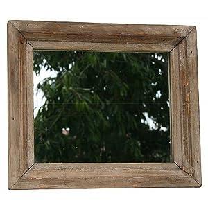 Rustikaler landhaus spiegel wandspiegel altes holz b ware optische m ngel k che - Rustikaler spiegel ...