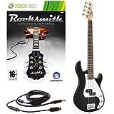 Rocksmith (Xbox 360) 3/4-elektrische G-4-Bassgitarre in schwarz