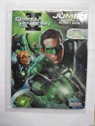 Green Lantern 96pg Coloring and Activity Book.