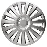 VAUXHALL CORSA BREEZE (06-) PREMIUM LUXURY WHEEL TRIM HUB CAP SET 14 INCH