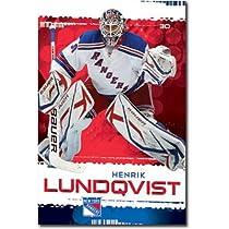 New York Rangers Henrik Lundqvist Sports Poster Print - 22x34 Poster Print, 22x34