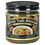 Better Than Bouillon Superior Touch Turkey Base 8oz ~ Better Than Bouillon