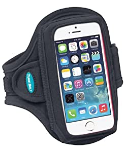 Armband for iPhone 5 / 5s / 5c with a slim case (Also fits slim cases for iPhone 5, iPhone 5c, iPhone 4S and iPhone 4)