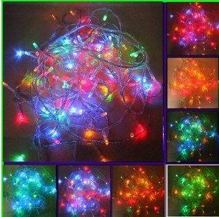 Colored String Lights For Bedroom : LEMONBEST Color Changing Starry Lights, RGB 10M 100 LED Fairy String Lights for Bedroom ...