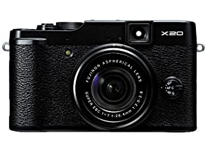 Fujifilm X20 12 MP Digital Camera with 2.8-Inch LCD (Black)