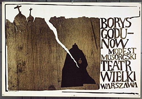 [Boris Godunov (1983) Original Polish Opera Poster (27x39) Very Fine Music by Modest Mussorgsky ROBERT SATANOWSKI Conductor MAREK GRZESINSKI Production and Direction Art by CHRISTOPHER] (Orchestra Conductor Costume)
