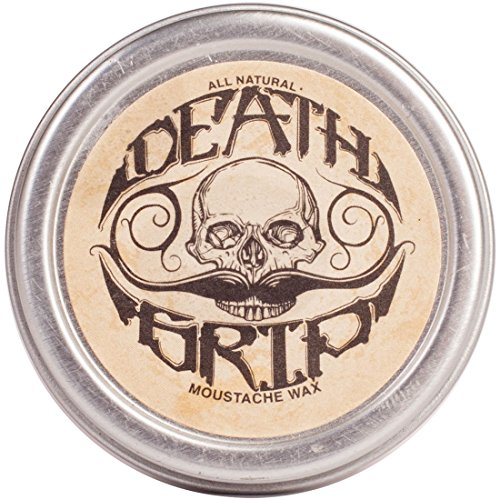 Death Grip Mustache Wax -All Natural