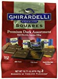 Ghirardelli Dark Assorted Chocolate Squares XL Bag, 16.71 Ounce