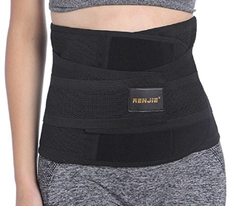 Renjie Waist Trimmer Trainer Cinchers Exercise Fitness Ab Belt for Men and Women (Abs Belt For Women compare prices)