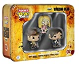 Amazon.co.jpウォーキング・デッド Walking Dead フィギュア 3体セット (Pocket Pop! Vinyl Figure)【並行輸入品】