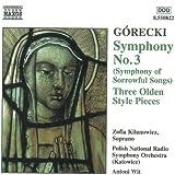 Gorecki;Symphony No.3